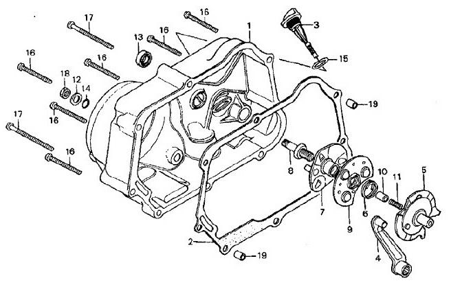 honda crf50f carburetor diagram