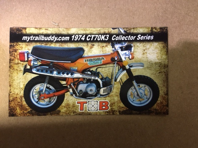 Honda Ct Ct K Candy Topaz Orange Tb on Honda St90 Clone