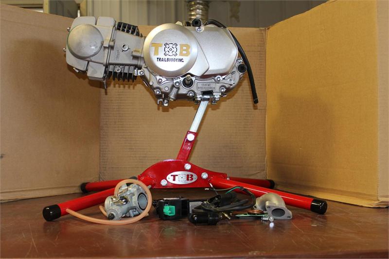 125cc Engine  With Kickstart  Clutch 4 Speed