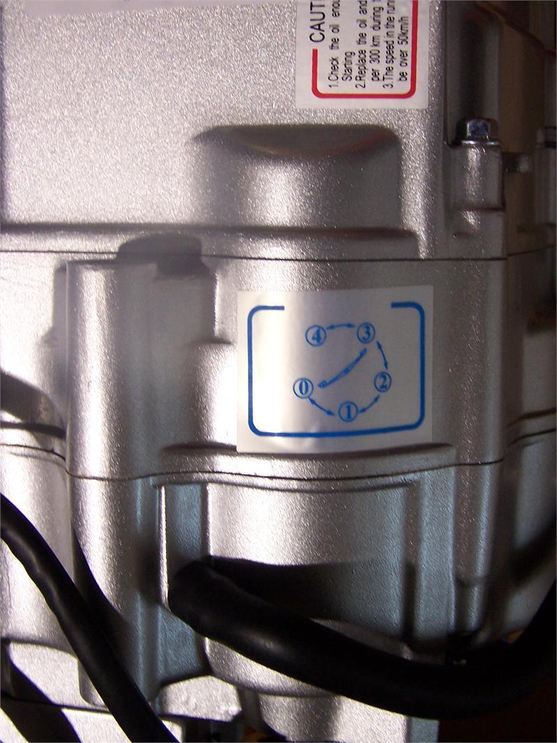 CT70 LIFAN 125CC ENGINE 4 Speed Semi Automatic