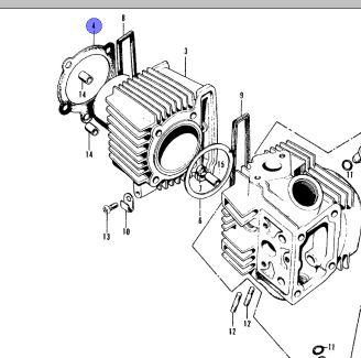 ct90 engine diagram wiring diagram rows 150cc scooter engine diagram ct110 engine diagram #6